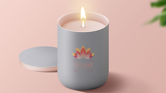 Candle Lotus Flower